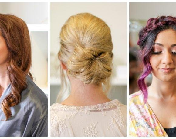 3 Bridal Beauty Looks with EcoTools