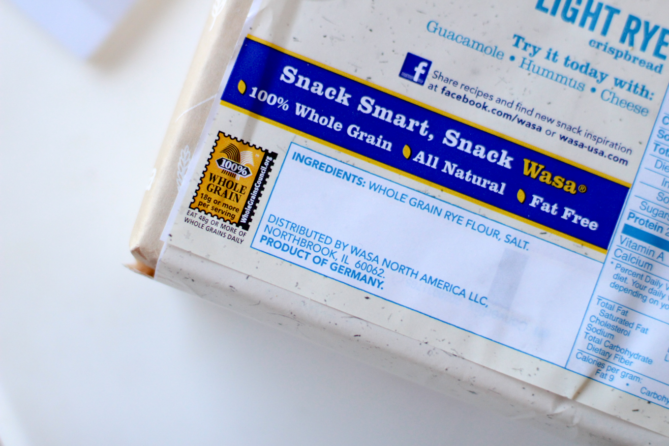 Healthy Snacks with Wasa Crackers - Lake Shore Lady