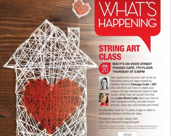 Make String Art with me at Macy's!