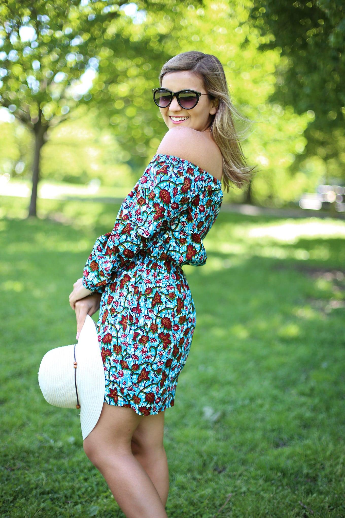 Summer Hats + Royal Native Dress - Lake Shore Lady