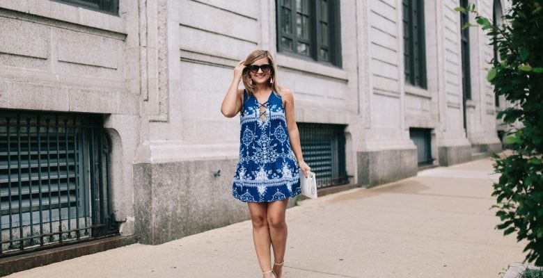 The dress that makes me want to go to Italy right now