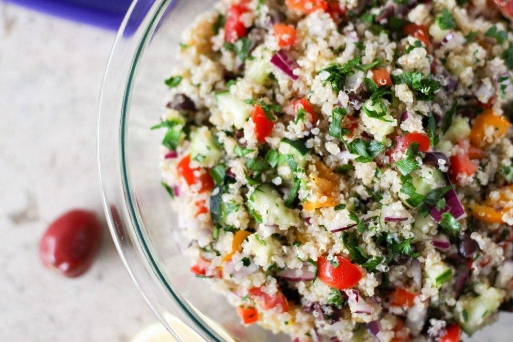 Rustic Quinoa Tabbouleh