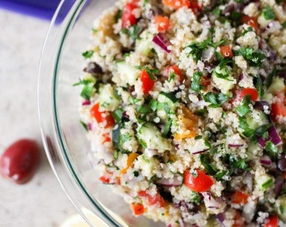 Rustic Quinoa Tabouli