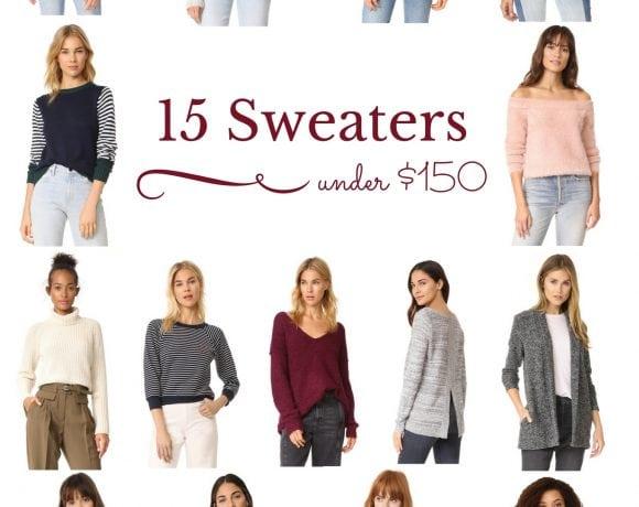 15 Sweaters Under $150