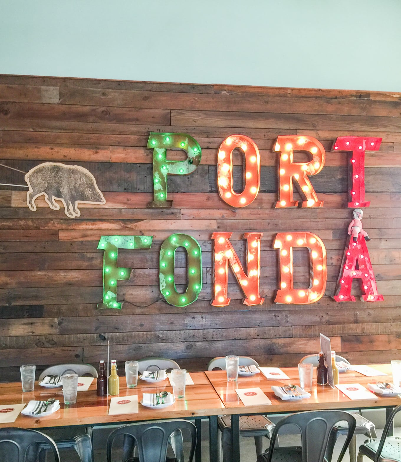 Port Fonda - Kansas City