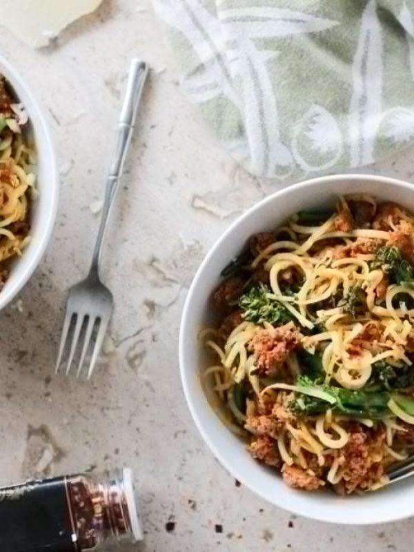 spiralized-parsnips-sausage-broccolini-15