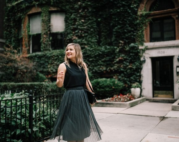 Yes, A Sophisticated Tulle Skirt Does Exist