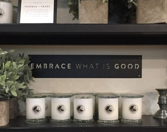 Embrace What Is Good
