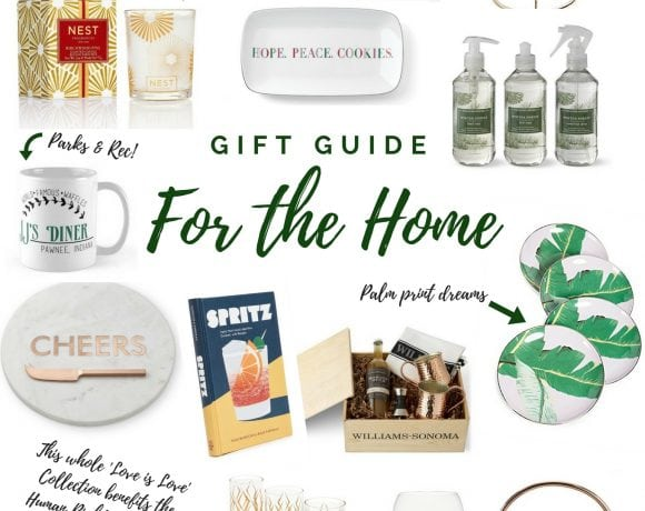2017 Holiday Gifts for the Home and the Cook