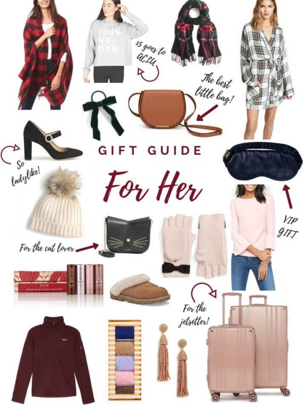 For Her Gift Guide 2017