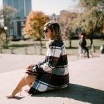 The Plaid Coat & Skirt Set of My Gossip Girl Dreams