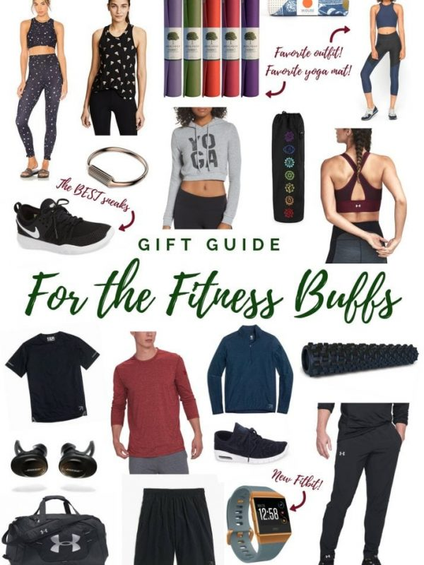Gifts for the Fitness Buffs