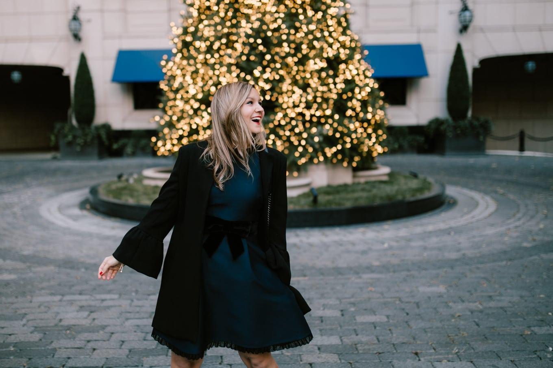 Christmas Dress by Kate Spade