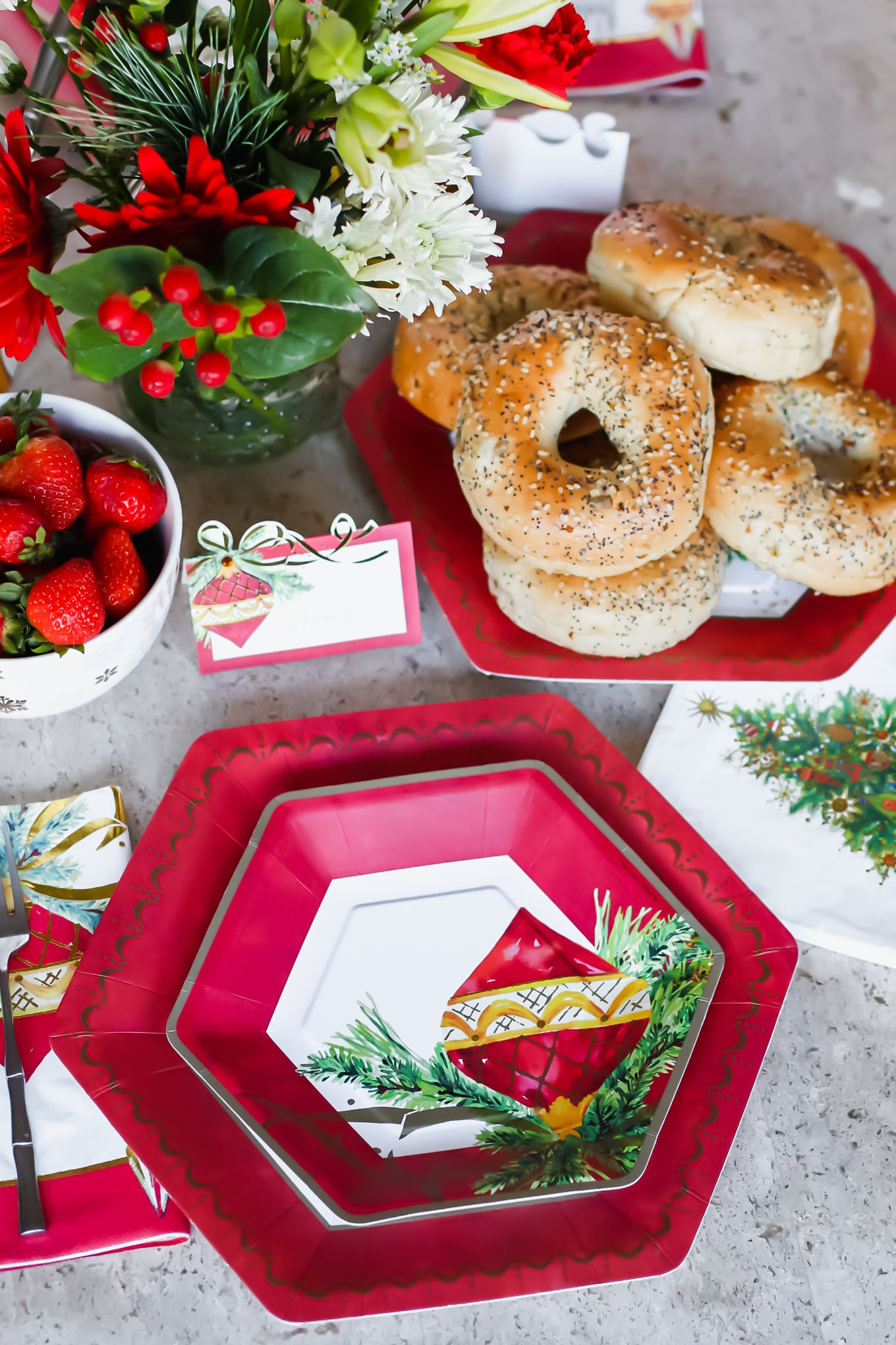 Christmas Brunch Menu.A Chic And Easy Christmas Brunch Tablescape And Recipes
