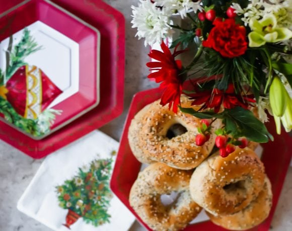 A Chic and Easy Christmas Brunch Tablescape (and recipes!)