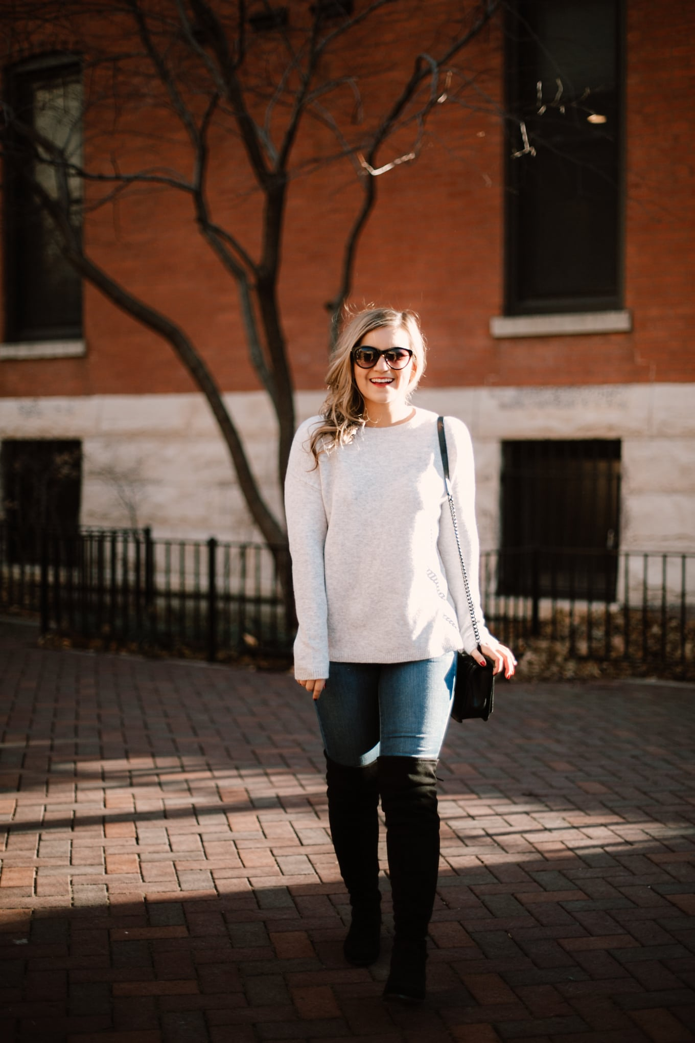 I found the best (budget-friendly) over the knee boots for petites!