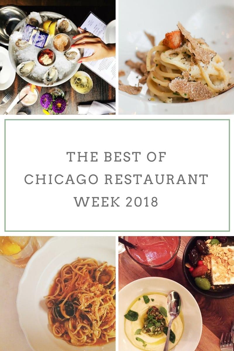 The Best of Chicago Restaurant Week 2018
