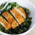 Chicken Kale Caesar Salad