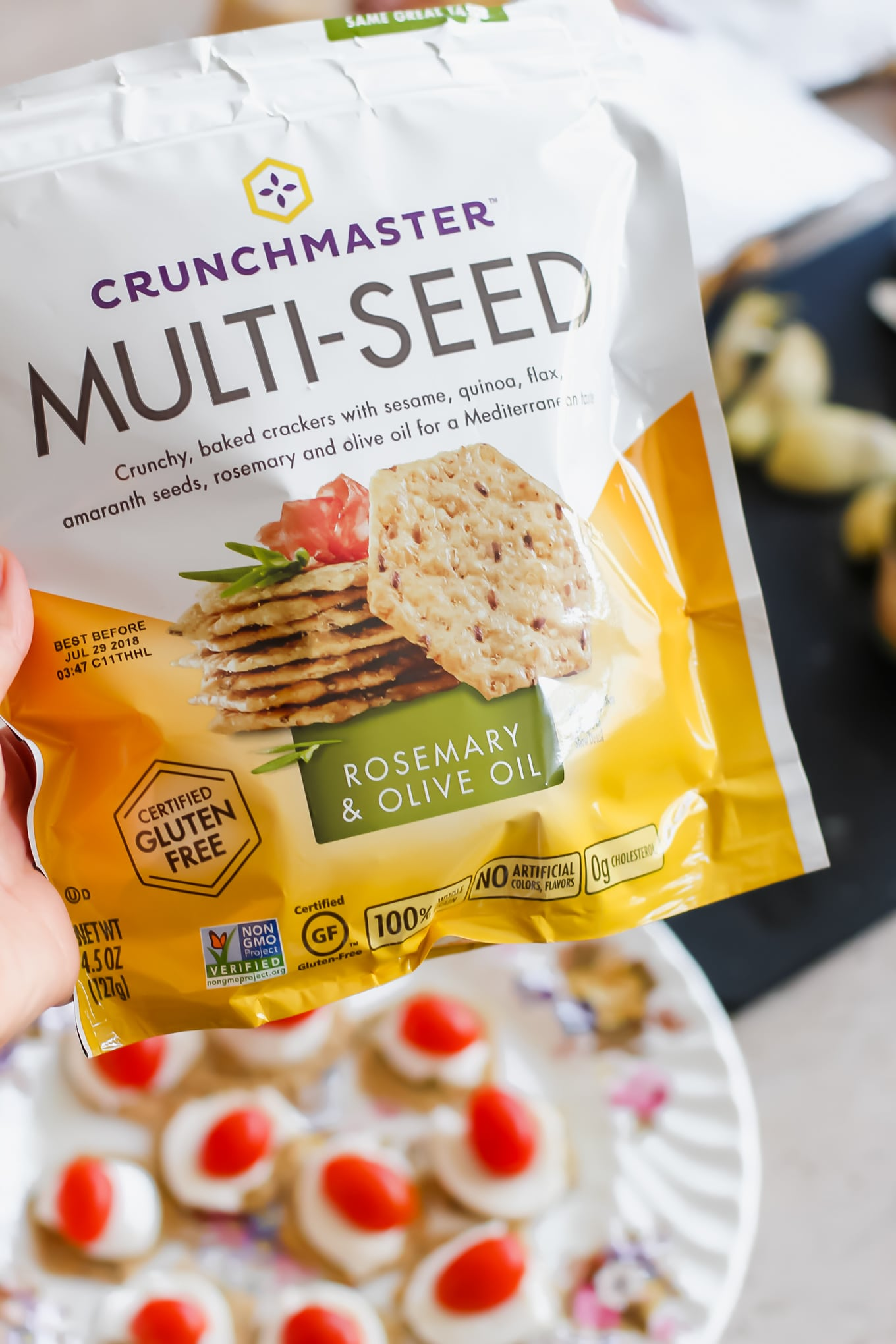 Crunchmaster Crackers: Multi Seed
