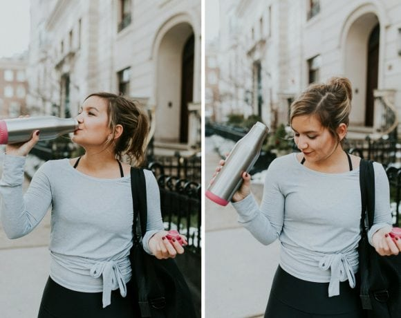 The Only Water Bottle You Need + why you should stay hydrated in the winter!