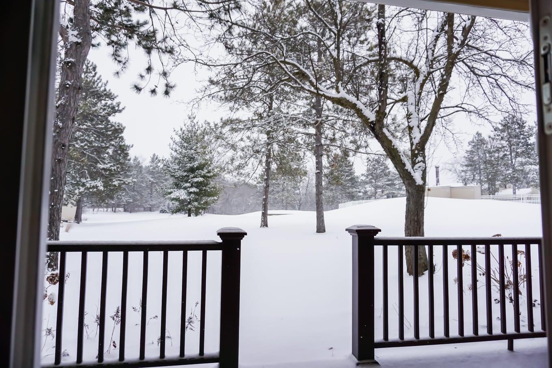 The Grand Geneva Winter Snow