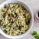 Easy and Healthy Mushroom Pasta
