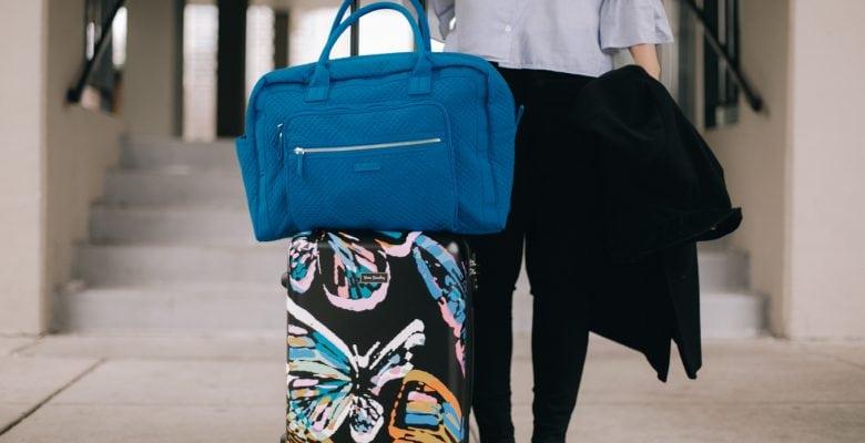 My Travel Essentials (+ a Vera Bradley Suitcase giveaway!)