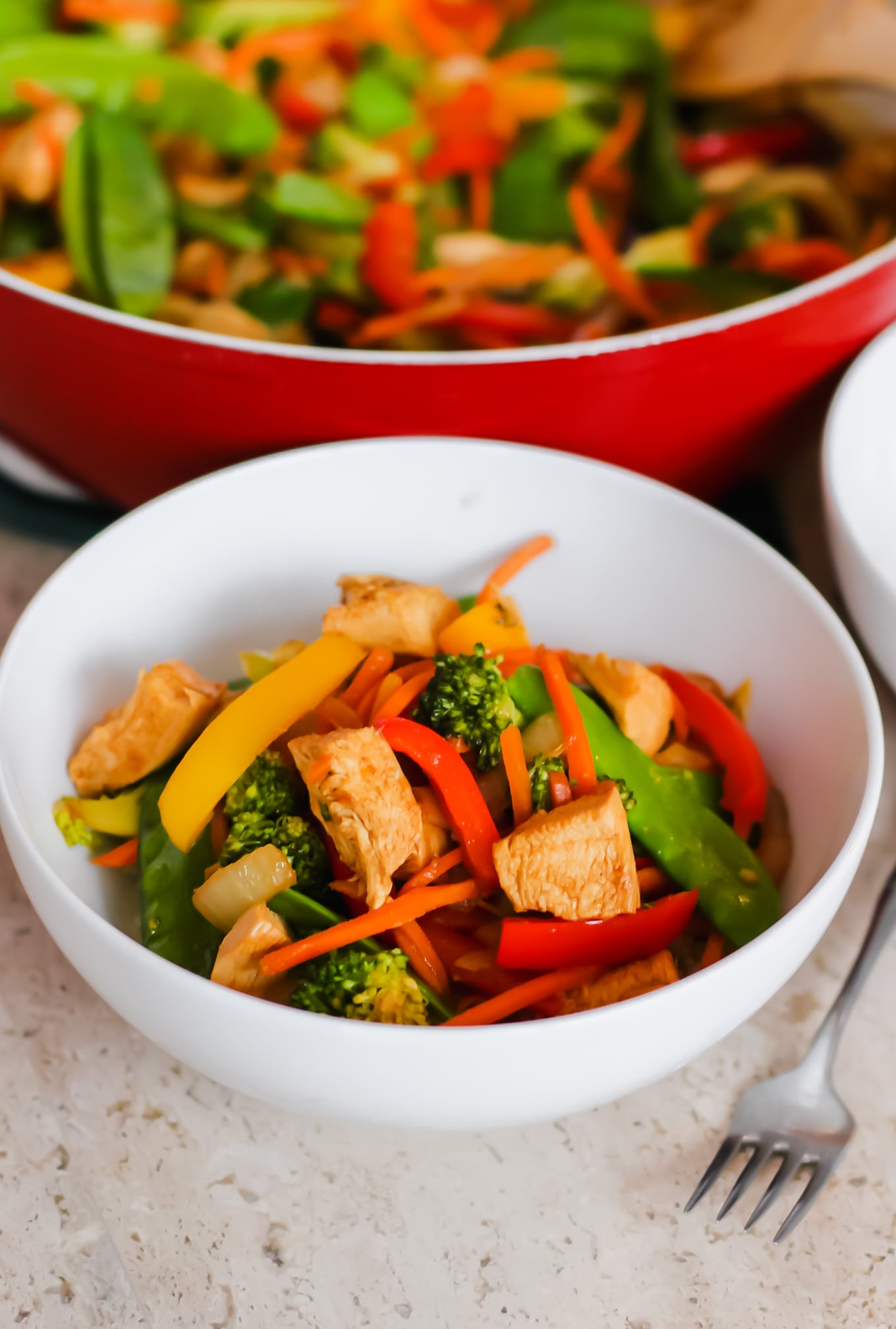 My Go-To Stir Fry Recipe: Chicken, Veggie Stir Fry