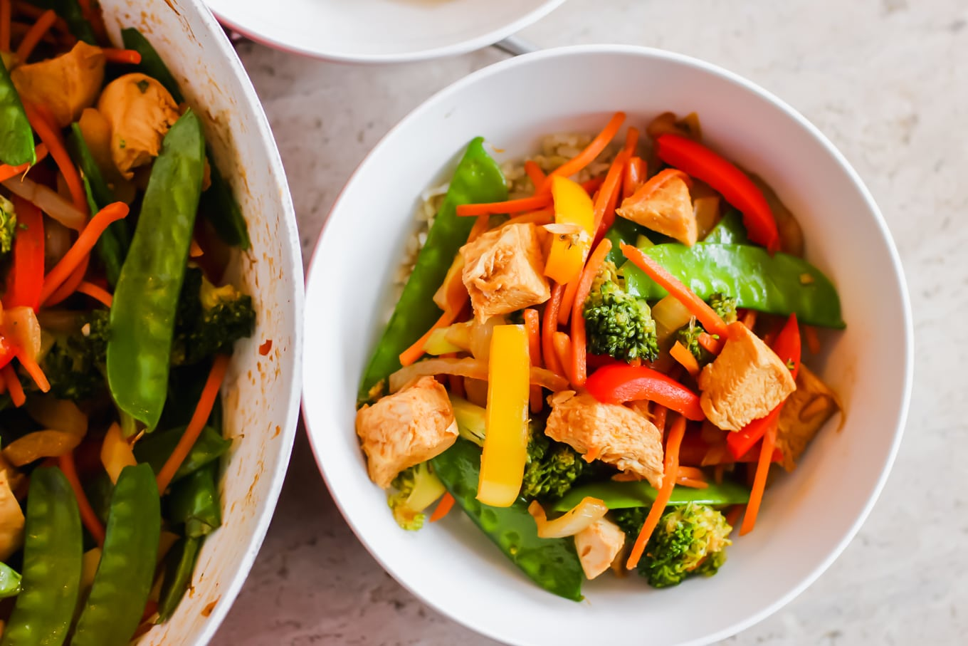 Chicken Veggie Stir Fry Recipe by Lake Shore Lady