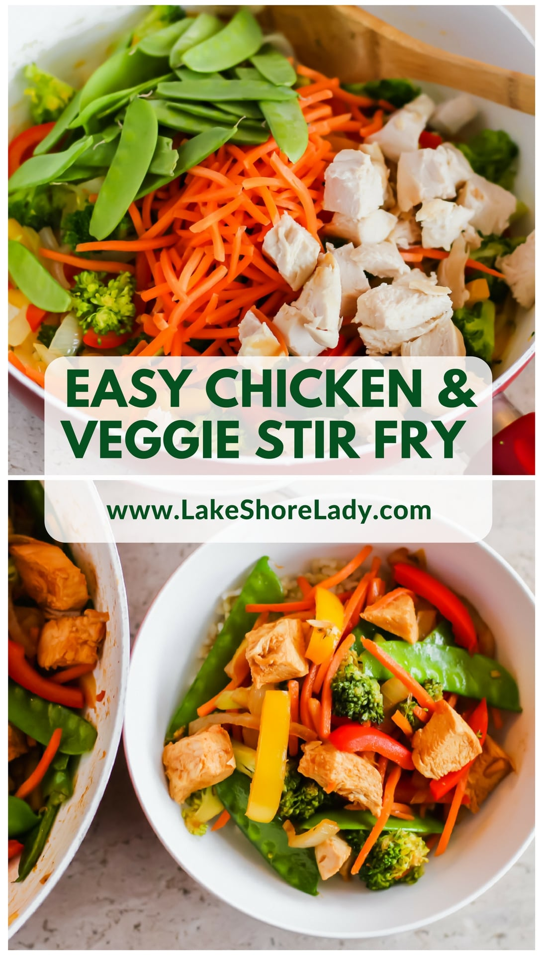 Learn how to make the perfect stir fry: Easy chicken and veggie stir fry recipe