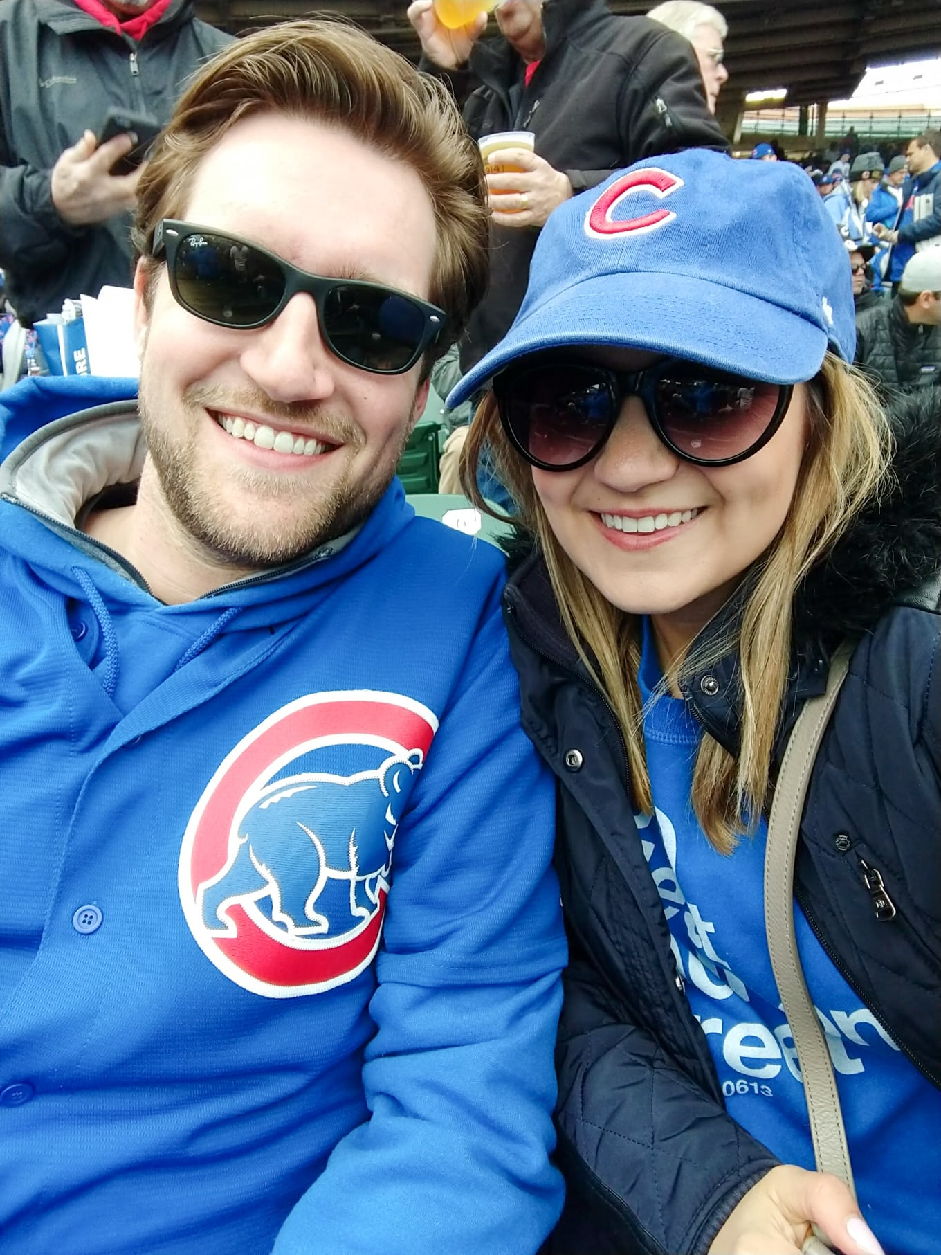 Lake Shore Lady Chicago Cubs Fan