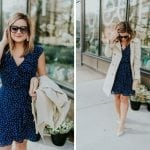 Versatile Polka Dot Dress