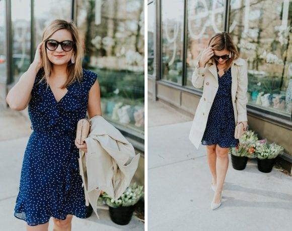 Versatile Polka Dot Dress