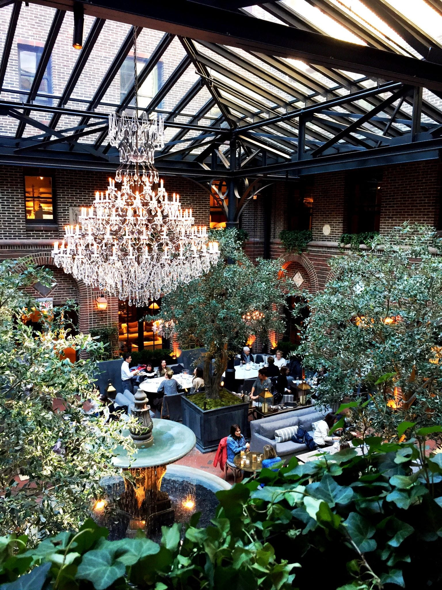 Get an Instagram at Restoration Hardware and/or Soho House