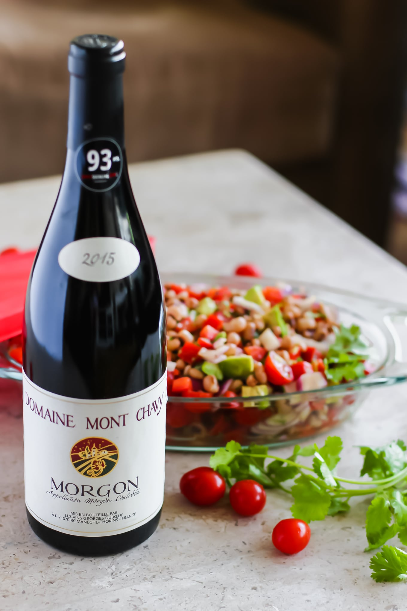 Morgon by Domaine Mont Chavy - Lake Shore Lady