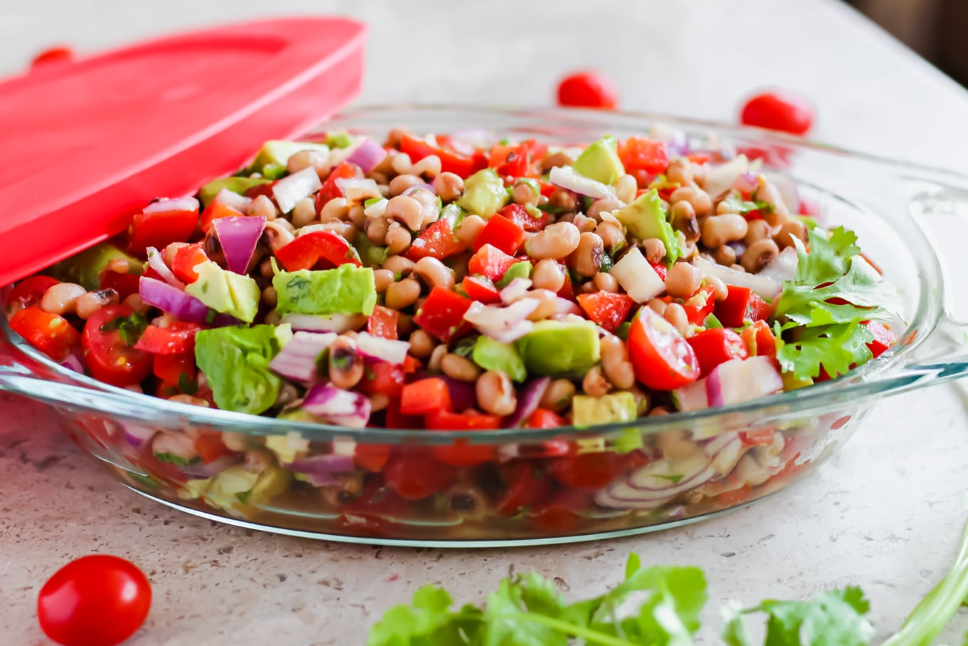 Black eyed pea salad - Lake Shore Lady