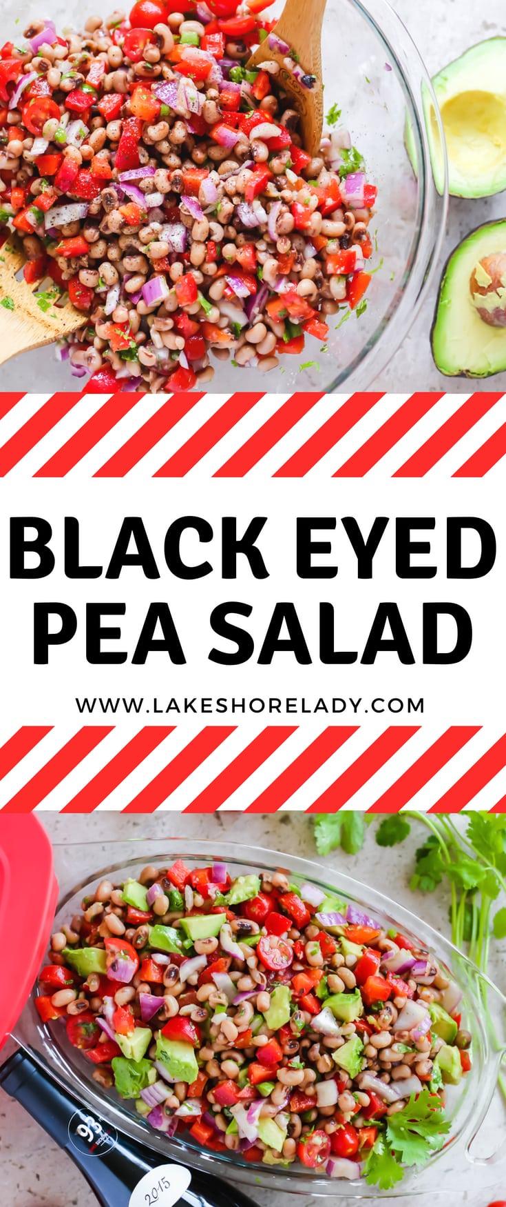 black eyed pea salad - Lake Shore Lady
