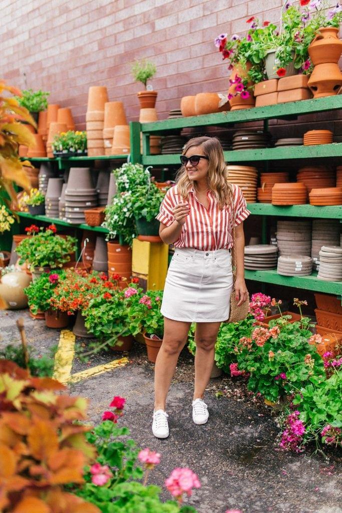 The Cotton Short-Sleeve Popover Shirt – Everlane - Lake Shore Lady
