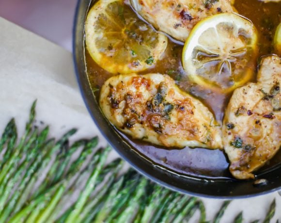 Mama's Easy Lemon Chicken