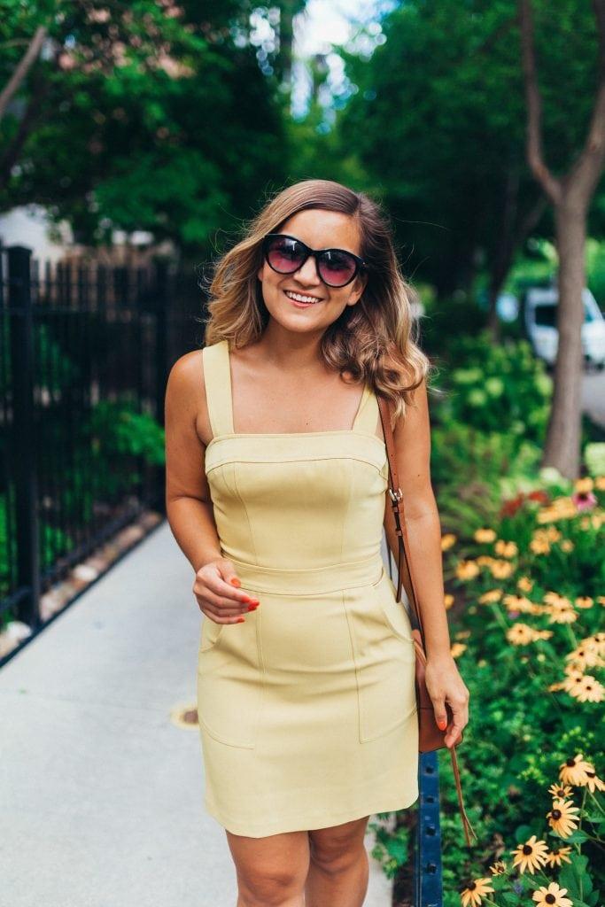 Amanda Uprichard Marigold Dress