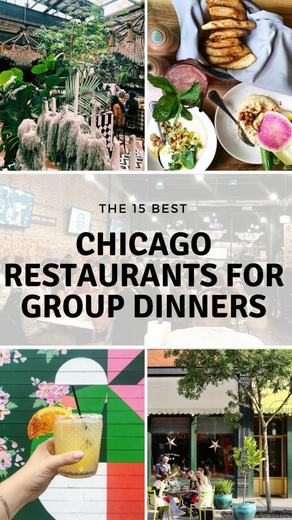 Chicago Restaurants for Group Dinners | Lake Shore Lady