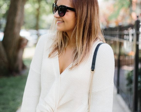 Why I'm Excited to Transition to Fall (+ my fave twist front top!)