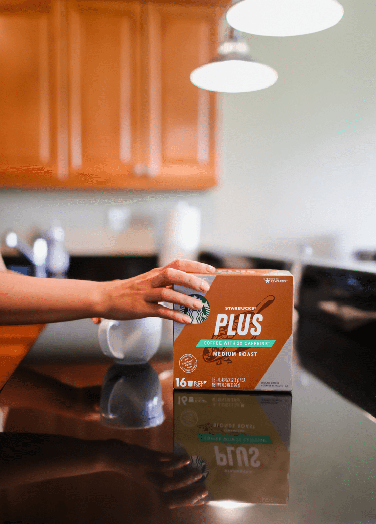 Starbucks® Plus Coffee Medium Roast K-Cup® pods