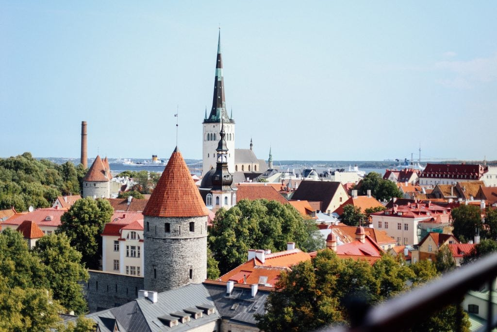 our day trip to Tallinn, Estonia!