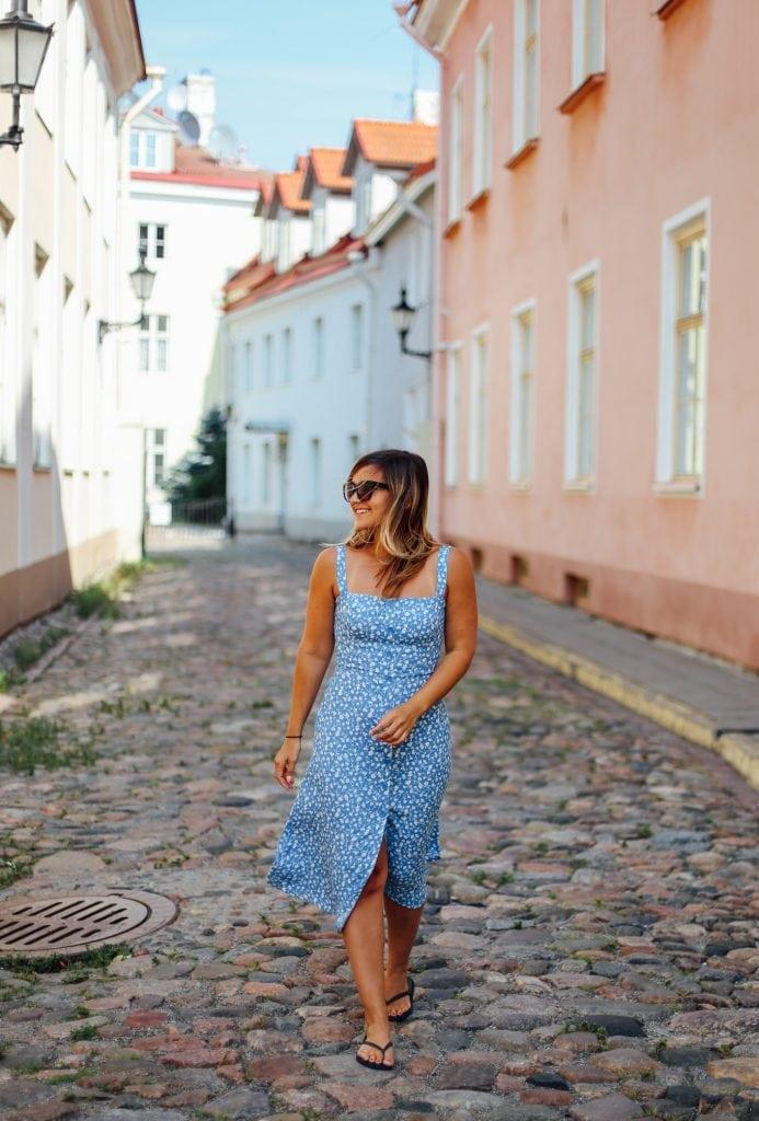 Lauren in Tallinn