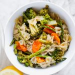 Our Favorite Roasted Veggie Pasta