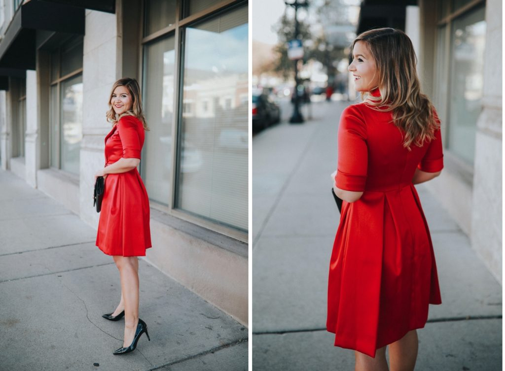 d8965c14f78 The Red Gal Meets Glam Dress of your Holiday Dreams - Lake Shore Lady
