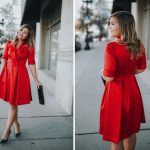The Red Gal Meets Glam Dress of your Holiday Dreams