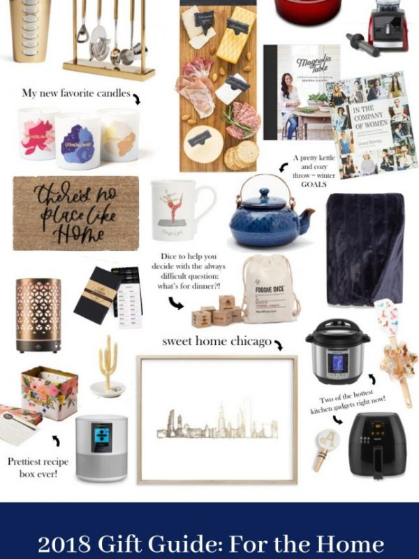 gift guide for the home 2018