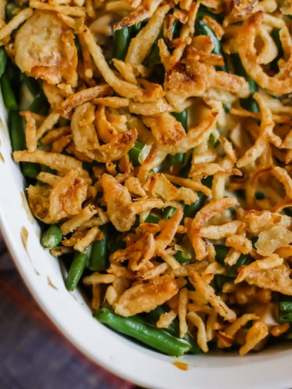 How to Make Green Bean Casserole with Fresh Green Beans - Lake Shore Lady